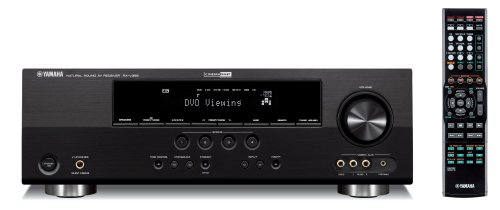 Yamaha RX-V365BL 500 Watt 5-Channel Home Theater Receiver (OLD VERSION) (Discontinued by Manufacturer)