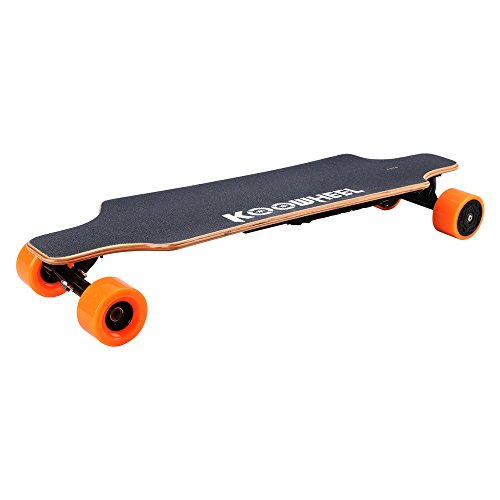 Koowheel Electric Skateboard Updated Version Dual Brushless Hub Motor 5500mAh Battery With Bag and 2 Remote Control Black