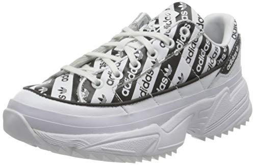 adidas W KIELLOR, Zapatillas Deportivas Mujer, Blanco y Negro, 39 1/3 EU