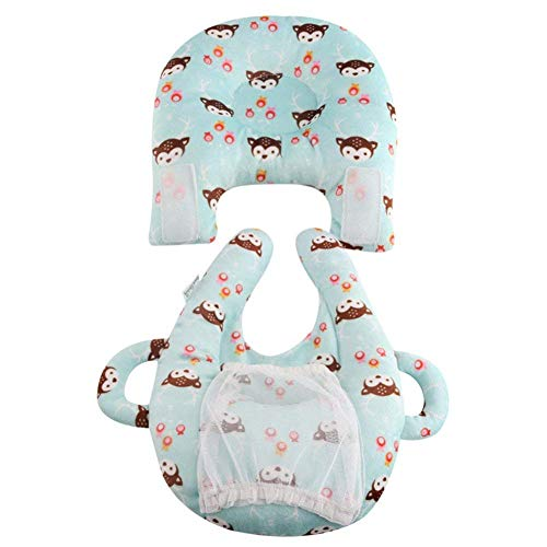 3 en 1 Coussin d'allaitement Coussin d'allaitement polyvalent, lait anti-crachats L'allaitement d'allaitement soutient la tête et le cou du bébé pour le cou de voyage