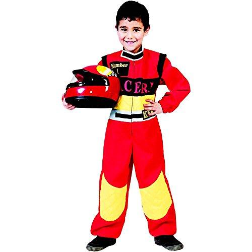 Boland Déguisement du pilote automobile Taille : 8/10 ans (126 à 138 cm)