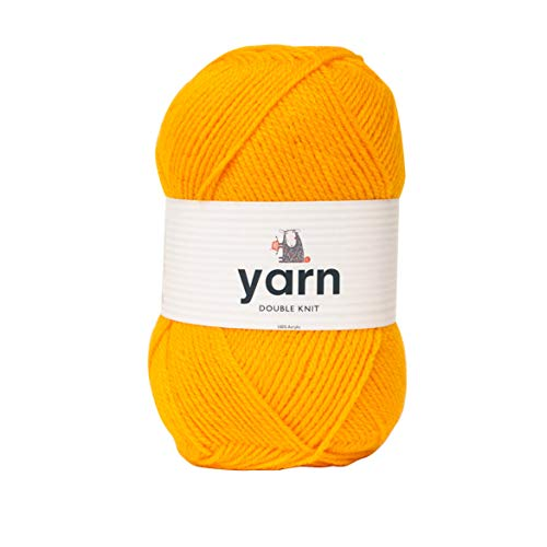 Korbond 100g Inca Double-Knit Acrylic (Available in 27 Colours) -Lightweight, Hypoallergenic & Durable Yarn – Ideal for Jumpers, Blankets, Baby Garments, Furnishings, Weaving, Knitting & Crochet, 100%