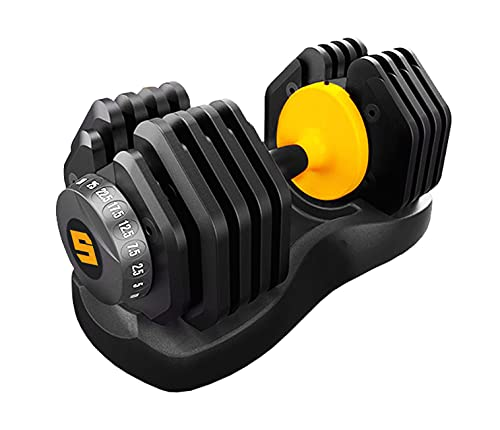 AD Fitness ADJUSTABLE DUMBBELLS 2.5 to 25kg Weights Unisex Home Gym Studio Weight Strength Training Men and Women - For Pair Pick 2x Qty