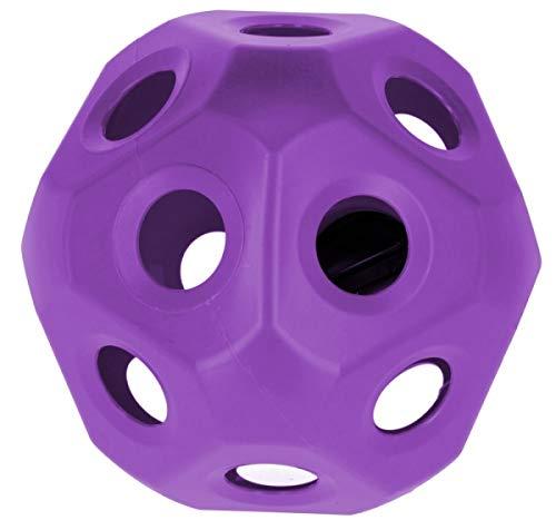 Kerbl Futterspielball HeuBoy Spielball Lila 3210389