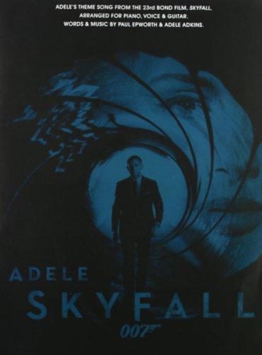 Skyfall - James Bond Theme: Noten für Klavier, Gesang, Gitarre
