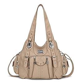 KL928 femmes sac à main sac à bandoulière sacs à bandoulière souple en cuir synthétique PU femmes sac à main poignée…