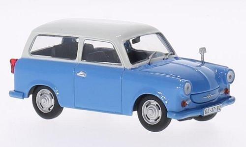 Unbekannt Trabant P50 Kombi, blau/Weiss, 1959, Modellauto, Fertigmodell, SpecialC.-78 1:43