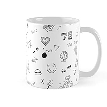 Louis Tomlinson Tattoos Coffee Mug 11oz & 15oz Ceramic Tea Cups
