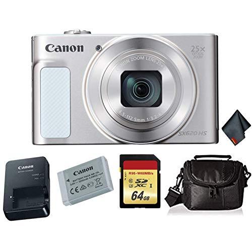 Canon PowerShot SX620 HS Digital Camera (Silver)...