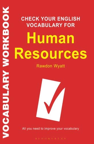 English Vocabulary for Human Resources