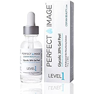 PERFECT IMAGE Glycolic Acid 30% Gel Peel - Enhanced With Retinol And Green Tea Extract (Professional Chemical Peel):Deepld