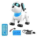 LANGM Juguete Robot Interactivo para Niños Programable, Regalo para Cachorros, Aplicación De Voz, Control Táctil, Juguete para Perros con Altavoz Bluetooth, Juguetes Robóticos