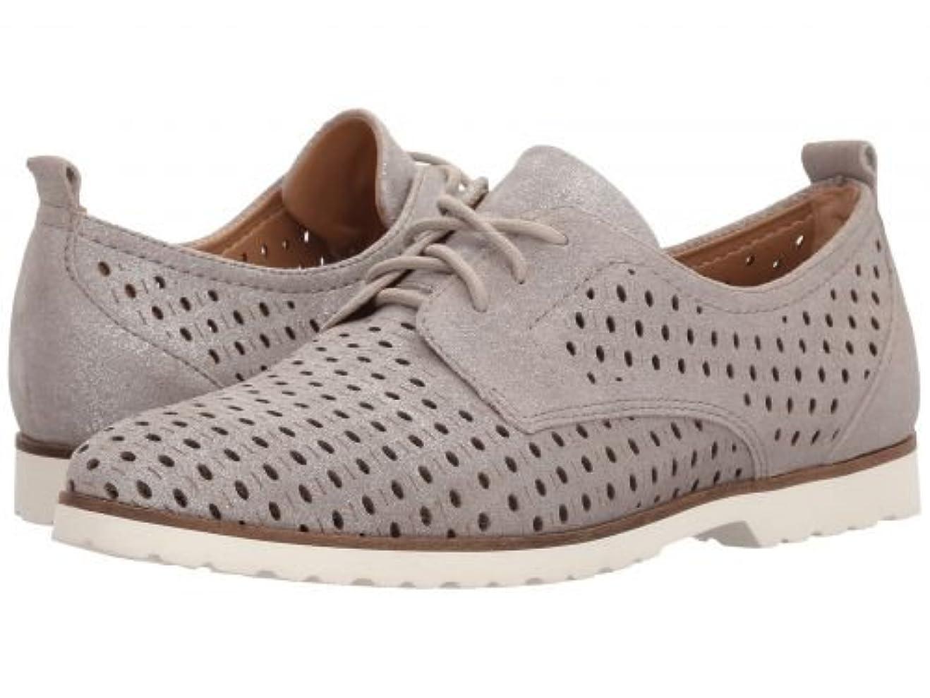 リンク可決衝動Earth(アース) レディース 女性用 シューズ 靴 オックスフォード 紳士靴 通勤靴 Camino - Silver Metallic Suede [並行輸入品]