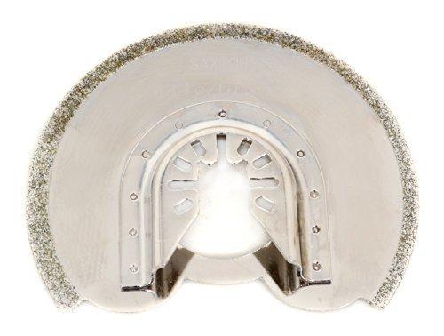 Saxton - Cuchilla con revestimiento de diamante (90 mm) para herramientas oscilantes Dewalt Wolf Stanley Worx