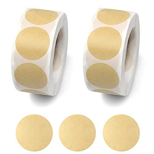 Etiquetas Adhesivas Kraft Pequeñas Marca milaosk
