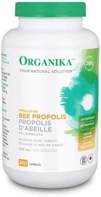 Organika Bee Propolis Max 58% OFF 200 Caps 500mg Manufacturer OFFicial shop