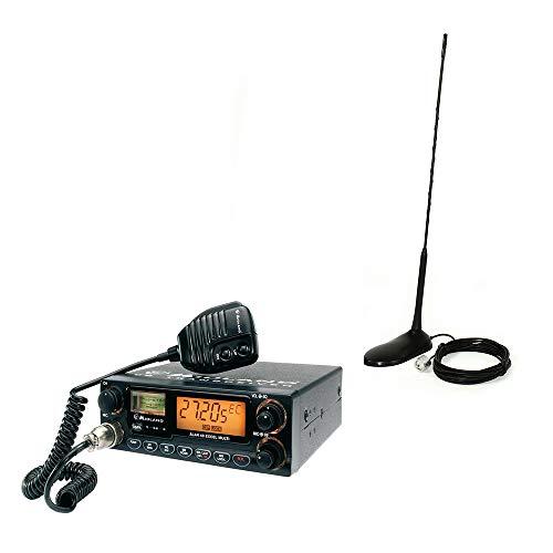 Midland PNI Pack Alan 48 Excel Extra 45 - Antena de Radio CB con imán, 4 W, 12 V, 40 Canales