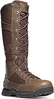 """Danner Snake Boot Side-Zip 17"""" Brown Hunting Boots 