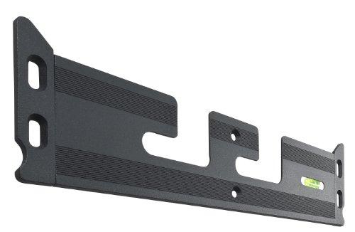 Titan Ultra Slim Wandhalterung für LED/LCD/Plasma-TV (VESA 75x75, 100x100; 4,5mm Wandabstand; 15kg Tragkraft) schwarz