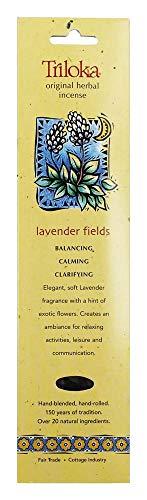 Triloka, Incense Lavender Fields, 10 Count
