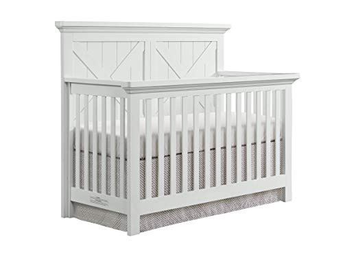 Westwood Design Tahoe 4 in 1 Convertible Crib, Sea Shell