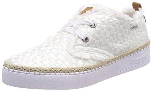 bugatti dames 421448026959 hoge sneakers, wit (wit/bruin), 41 EU