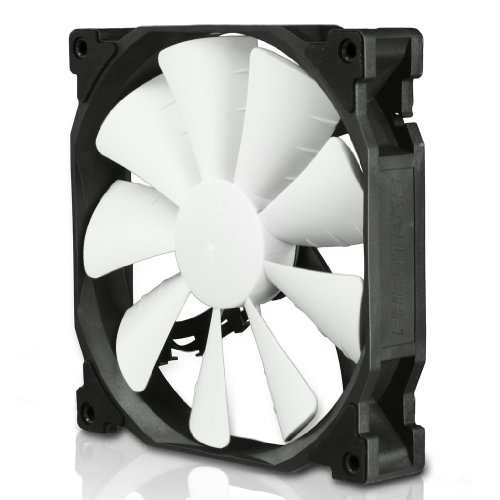 Phanteks 140mm Cooling Fan (PH-F140SP_BK),Black/White