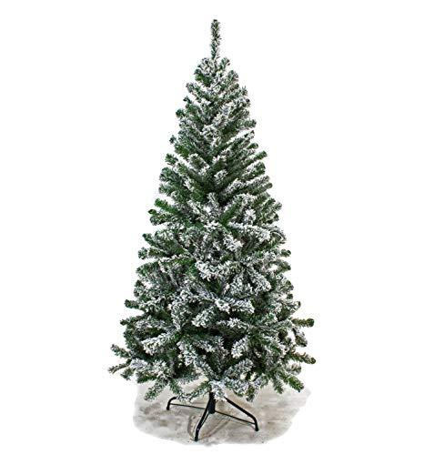 Joy Christmas Albero di Natale INNEVATO 180 cm Abete Ecologico 47502