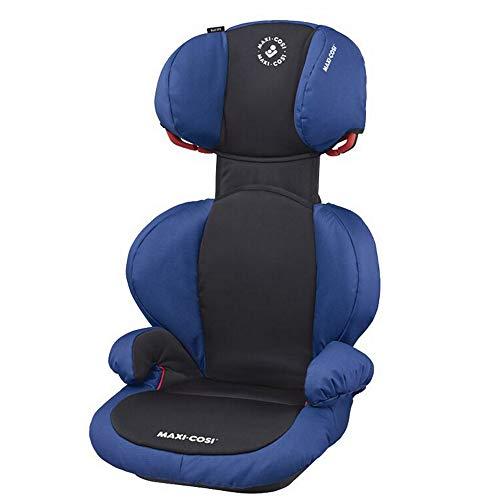 Maxi-Cosi Rodi SPS Kindersitz, Mitwachsender Gruppe 2/3 Autositz (15-36 kg), Nutzbar ab 3,5 bis 12 Jahre, Navy Black (schwarz)