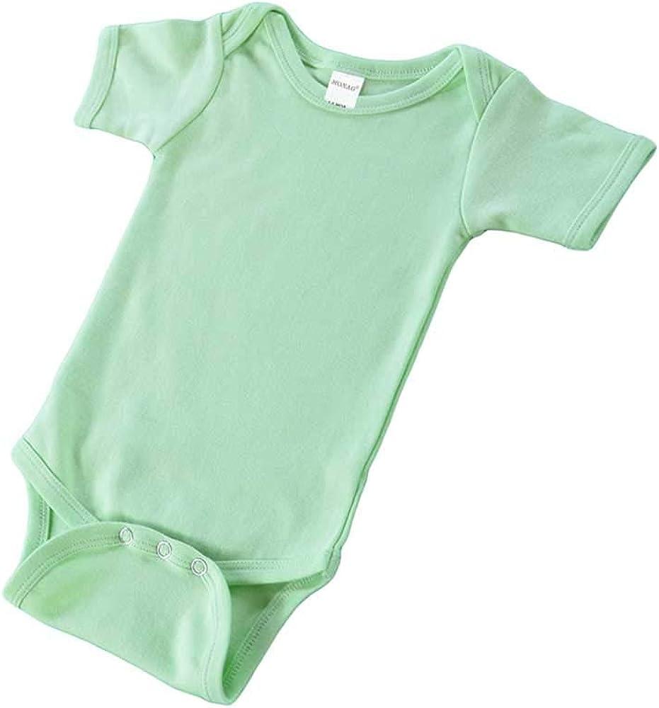 Monag Cheap super special Nippon regular agency price Short Sleeve Baby Interlock Fine Bodysuit