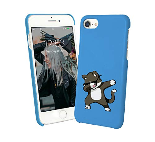 Cat Dab Dance_010271 Protective Phone Mobile SmartphoneCase Cover Hard Plastic For iPhone 7 iPhone 7s Funny Gift Christmas