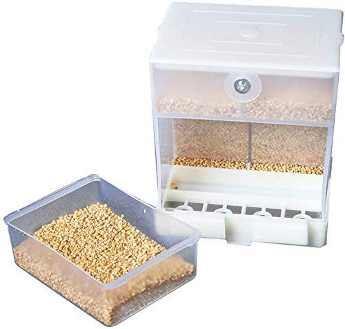 Grneric mangiatoia per Uccelli nessun Pasticcio Alimentatore Automatico Integrato per pappagalli per Uccelli Piccoli e Medi