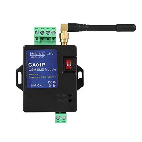 Hopcd 1 Canal Sistema de Alarma gsm, GA01P gsm Mini Alerta de Falla de energía remota Inteligente Alarma de Llamada de SMS Seguridad para Interruptor magnético de Puerta, Sensor de Infrarrojos