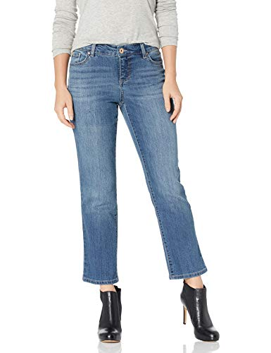 Bandolino Women's Petite Mandie Signature Fit 5 Pocket Jean, Sonora, 4P Short