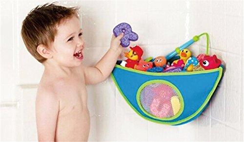 BrilliantDay El mejor bolso para el organizador del cuarto de baño, almacenaje superior del juguete de la bañera con 6 tazas de succión resistentes #3