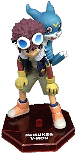 ZPTECH Exquisitas figuras de acción Digimon Figure Motomiya Daisuke & V-mon Figura de anime Figura de acción Feng (color: por defecto)