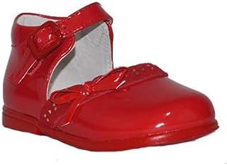 53312af4 BUBBLE BOBBLE Z. COMUNIÓN PRICESA A1408 Zapatos Fiesta Comunión Niña Rojo  Elegantes Moda Danza Boda