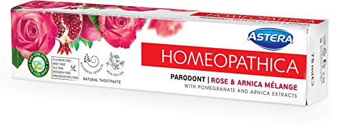 ASTERA HOMEOPATHICA PARODONT - Rose & Arnica Melange, 75 ml