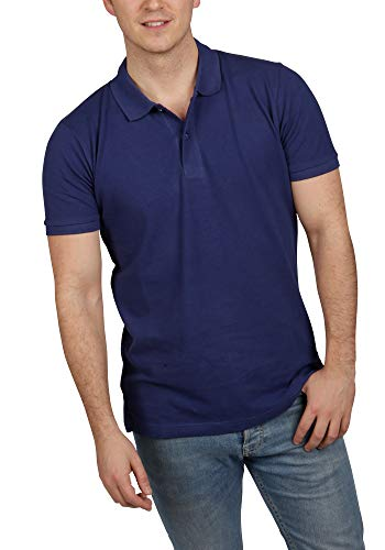 Blu Cherry Camiseta de polo de algodón 100% para hombre
