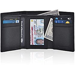 Image of Trifold Wallets for Men -...: Bestviewsreviews