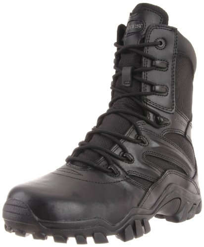 Bates Women's Delta 8 Inch Boot, Black, 6.5 M US