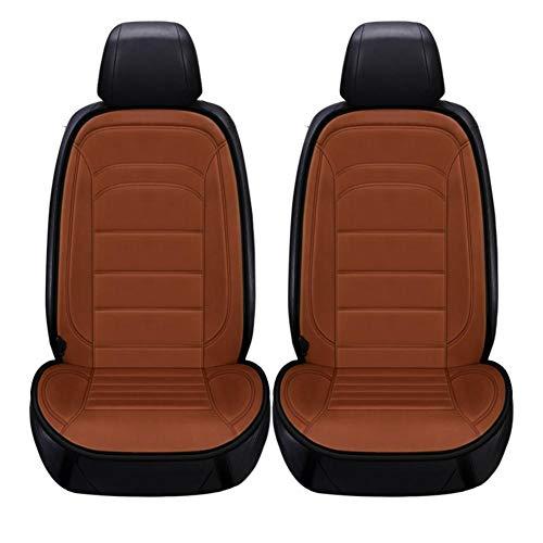 abiet Beheizbare Kissen, Beheizte Sitzauflage, 12V Auto Sitzheizung Heizkissen Für Rückenlehne Und Sitzfläche, Beheizter Sitzbezug Für Auto, Heim Und Bürostuhl