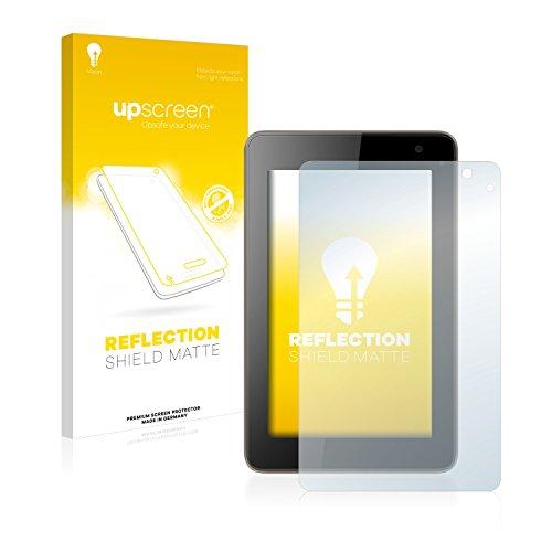 upscreen Entspiegelungs-Schutzfolie kompatibel mit Hisense Sero 7 Pro – Anti-Reflex Bildschirmschutz-Folie Matt