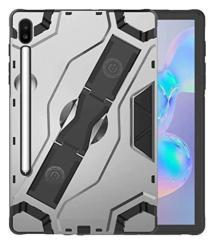 ZRH Accesorios De Pestañas para Samsung Galaxy Tab S6 10.5'SM-T860 SM-T865, TPU + PC Estuche De Armadura De Servicio Pesado Funda Híbrida para Samsung Galaxy Tab S5E 10.5'