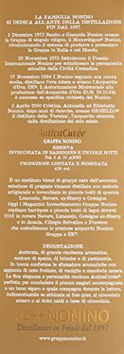 Nonino Grappa Riserva Antica Cuvée Riserva 5 Years in Geschenkpackung (1 x 0.7 l) - 5