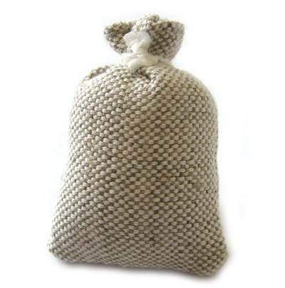 CREATIV DISCOUNT ® Miniatur Kartoffelsack, 3,5 x 5 cm
