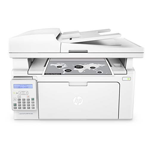 HP LaserJet Pro M130fn All-in-One Laser Printer with print security, Amazon Dash Replenishment ready - White (G3Q59A)