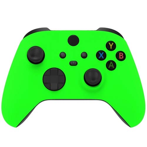 Neon Green Wireless Custom Controller for Xbox Series X Series S Xbox One (Black Base)