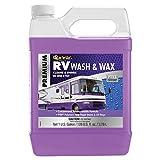STAR BRITE Premium RV Wash & Wax - 1 Gallon Jug with PTEF UV Protection