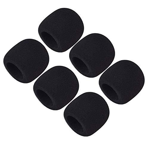 Moukey 6 Packs Cubierta de Espuma de Micrófono/Parabrisas para Micrófono